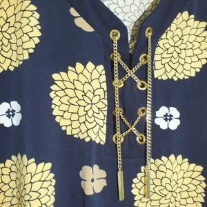 Charter Club Size M Top with Decorative Chains
